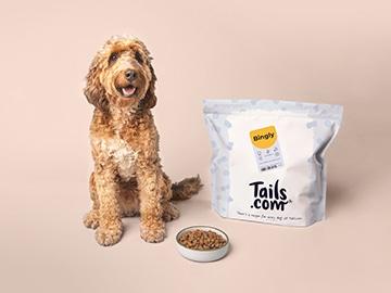 code promo Tails.com exclusif : 2 semaine de croquettes pour chien gratuits