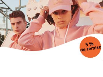 code promo Zalando exclusif : - 5% pour les membres Soldesduck ! (lire les conditions de l'offre)