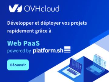 OVH cloud Web Paas : votre pack Start à partir de seulement 25€ / mois