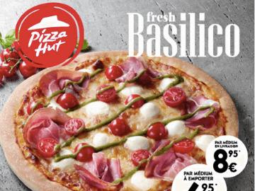 Pizza Hut delivery : commandez dès maintenant la pizza Fresh Basilico pour seulement 6,95€