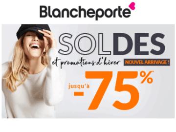 promo Blancheporte : bénéficiez de jusqu'à 75% de remise en ligne !