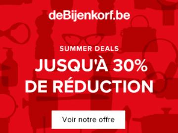 promo De Bijenkorf : obtenez 30% de remise sur vos achats pour l'Ascension