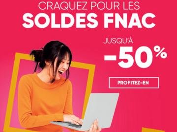 promo Fnac : bénéficiez de jusqu'à 50% de remise sur vos achats
